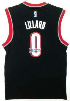 Póló kosárlabda adidas Replica Portland Trail Blazers Damian Lillard M