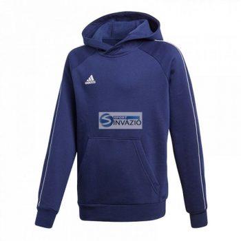 Adidas Core 18 Hoody Junior CV3430 futball pulóver
