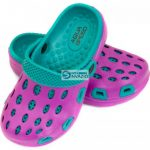Slippers Aqua-speed Silvi JR col 09 violet kék