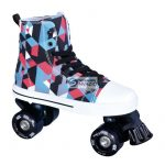 Roller korcsolya La Sports Canvas JR 14120SBK # 36