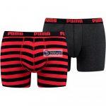 Boxeralsó Puma Stripe 1515 Boxer 2P M 591015001 786