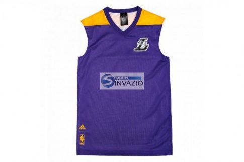 LA Lakers Summer Run adidas kosaras póló AJ1886 r