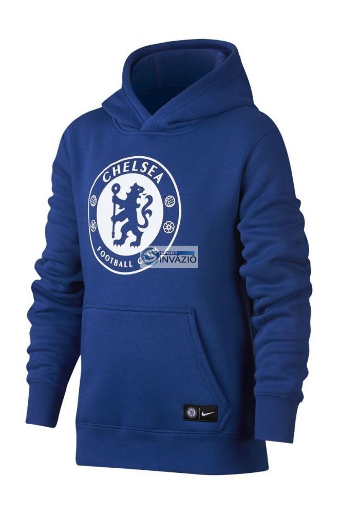 e5f054ef22 Nike Junior Chelsea FC Kapucnis pulóver-905502-417 - Sport Invázió